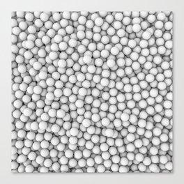 Golf balls Canvas Print
