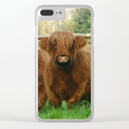 horny one Clear iPhone Case