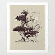 Miyagi Art Print