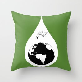 Earth Day 2015 Throw Pillow