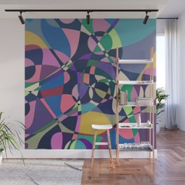 Abstract Composition 482 Wall Mural