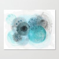 blues Canvas Prints featuring Blues by Claudine Gevry