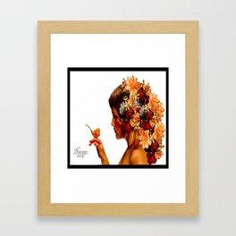 Love Me For Me Framed Art Print