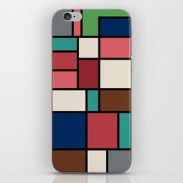 The Colors of / Mondrian Series - Spirited Away - Miyazaki iPhone Skin