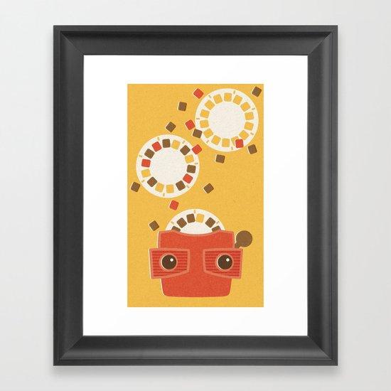 Ephemera - Part I Framed Art Print