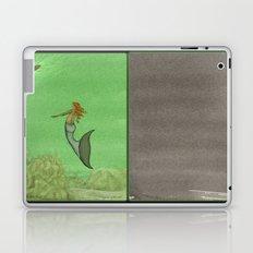 The Golden Mermaid Laptop & iPad Skin