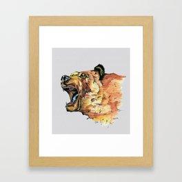 Ursus arctos Framed Art Print