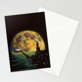 Midnight Destruction Stationery Cards