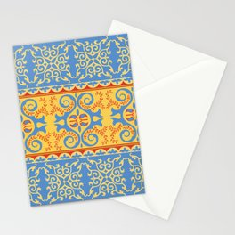 Traditional pattern of Eastern Central Asia Stationery Cards