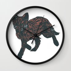first steps into the new year Wall Clock