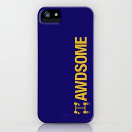 AWDSOME v1 HQvector iPhone Case