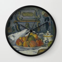 Dish of Apples Wall Clock