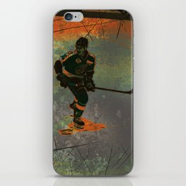 The Game Changer - Ice Hockey Tournament iPhone Skin