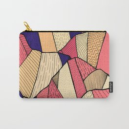 The pattern of hills Carry-All Pouch
