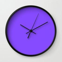 Periwinkle Wall Clock