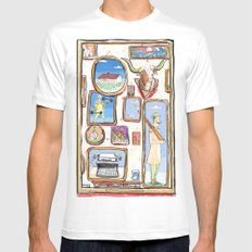Pictures Mens Fitted Tee White MEDIUM