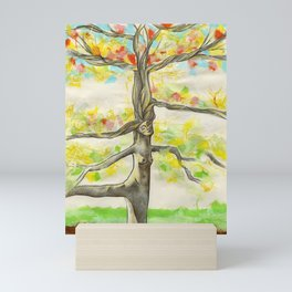 Lady Larch Mini Art Print