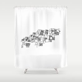 Montreal Shower Curtains  Society6