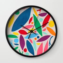 Found Objects Wall Clock