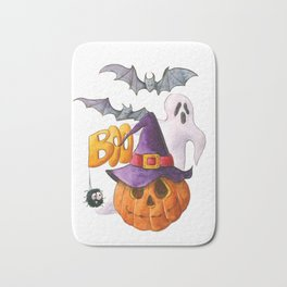 Halloween party Bath Mat