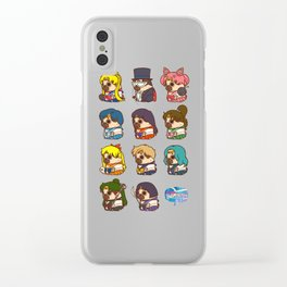 Pretty Soldier Sailor Puglie Clear iPhone Case