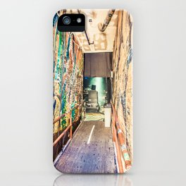Backstage iPhone Case