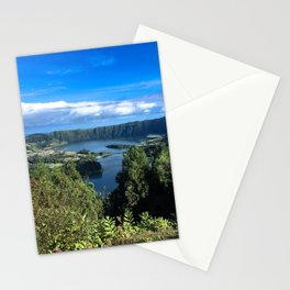 Postcard from Paradise (aka. Azores) Stationery Cards