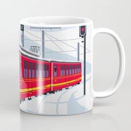 Grindelwald Ski Poster Coffee Mug