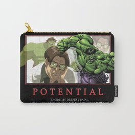 """INK-SPIRATION: """"Potential"""" Carry-All Pouch"""