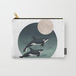 moonlight caravan // orcas Carry-All Pouch