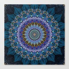 Blue Luna Canvas Print