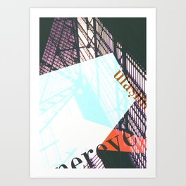 Story of the Roads - 1 Art Print