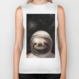 Space Sloth Biker Tank