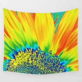 Sunflower Party Wall Tapestry