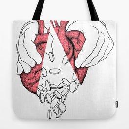 money or love Tote Bag