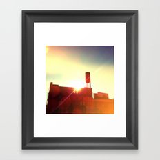 town storage Framed Art Print