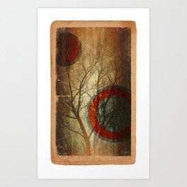 Tree oo3 Art Print