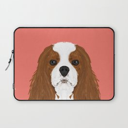 Bode - King Charles Spaniel customizable pet art for dog lovers  Laptop Sleeve