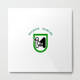 flag of marche Metal Print