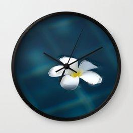 Leelawadee Flower Wall Clock