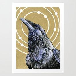 Saros Art Print
