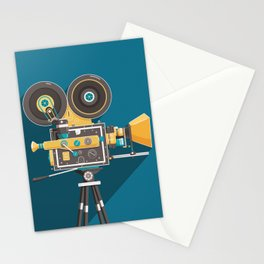CINE: Blue Stationery Cards