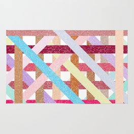 Structural Weaving Lines Rug