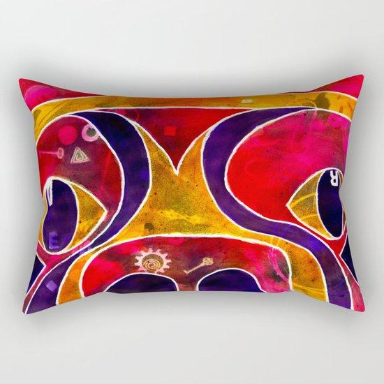 Labstract Rectangular Pillow