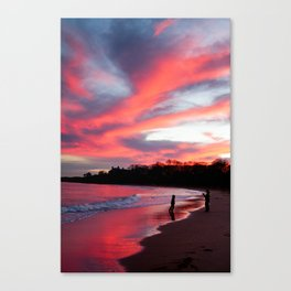 Blazing Reflection Canvas Print