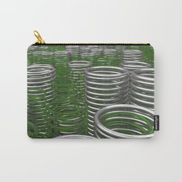Glass and metal springs and coils Carry-All Pouch