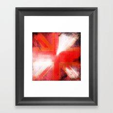 God save the Union Jack Framed Art Print