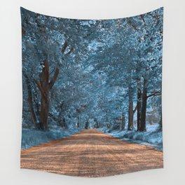 Wye Island Sapphire Road Wall Tapestry
