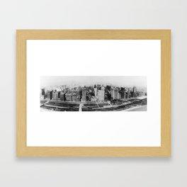 Michigan Avenue in Chicago (1911)  Framed Art Print