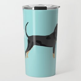 Coonhound funny farting dog breed gifts Travel Mug